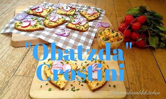 Obatzda Crostini